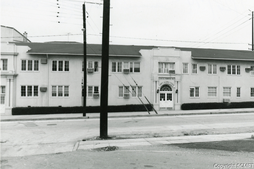 1974 Entrance of Samuel Goldwyn Studios on Formosa Ave.
