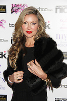 Caprice, A Night With Nick, Cafe Kaizen, London UK, 04 December 2014, Photo By Brett D. Cove