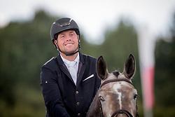 Dekens Frederik, BEL, Qiana K van't Kattenheye<br /> BK Young Horses 2020<br /> © Hippo Foto - Sharon Vandeput<br /> 6/09/20