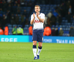 December 8, 2018 - Leicester, England, United Kingdom - Leicester, December 08, 2018.Tottenham Hotspur's Harry Kane applauds the fans after . the English Premier League match between Leicester City and Tottenham Hotspur at the King Power Stadium in Leicester, Britain, 8 December 2018  (Credit Image: © Action Foto Sport/NurPhoto via ZUMA Press)