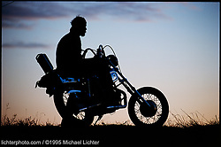 Sportster Sunset, Sturgis, SD. 1995<br /> <br /> Limited Edition Print from an edition of 50. Photo ©1995 Michael Lichter.