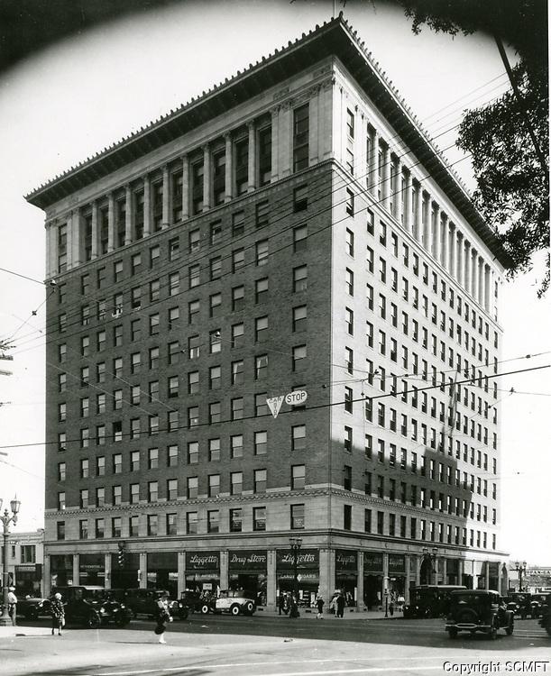 1924 Taft Building at Hollywood Blvd. & Vine St.