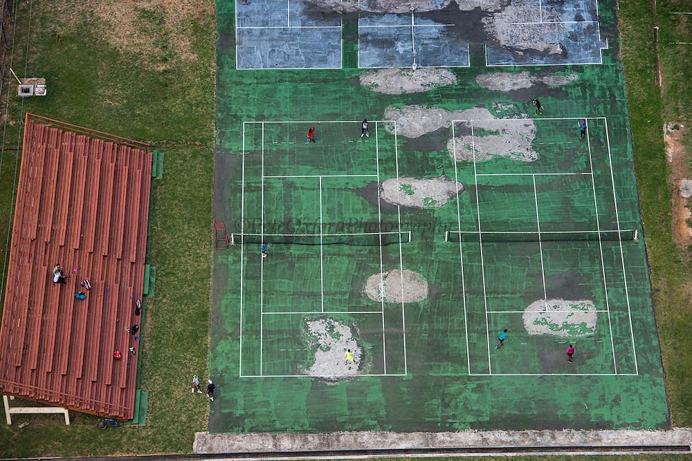 Tennis Court<br /> Georgetown<br /> GUYANA<br /> South America