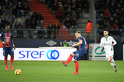 March 16, 2019 - Caen, France - 14 JONATHAN GRADIT  (Credit Image: © Panoramic via ZUMA Press)