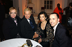 A party hosted by Mario Testino, Bianca Jagger and Kenneth Cole in collaboration with UNFPA and Marie Stopes International to celebrate the publication of Women to Woman: Positively Speaking - a book to raise awareness of women living with HIV/Aids, held at The Orangery, Kensington Palace, London on 2nd December 2004.<br />
