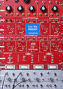 Patchboard in SETI Control Room.