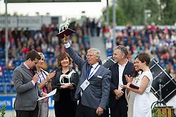 """Media prize """"Das Silberne Pferd"""" <br /> Opening ceremonie CHIO Aachen 2013<br /> © Dirk Caremans"""