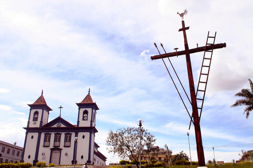Sete Lagoas_MG, Brasil...Igreja de Santo Antonio em Sete Lagoas...The Santo Antonio church in Sete Lagoas...Foto: LEO DRUMOND / NITRO....