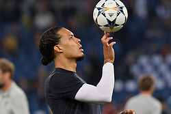 May 2, 2018 - Rome, Italy - Virgil Van Dijk during the UEFA Champions League semifinal match between AS Roma and FC Liverpool at the Olympic stadium on may 02, 2018 in Rome, Italy. (Credit Image: © Silvia Lore/NurPhoto via ZUMA Press)