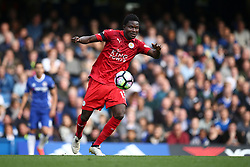 Daniel Amartey of Leicester City in action - Mandatory by-line: Jason Brown/JMP - 15/10/2016 - FOOTBALL - Stamford Bridge - London, England - Chelsea v Leicester City - Premier League