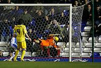 Leeds keeper Graham Stack fails to keep out Nicklas bendtner's goal