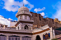 Jama Masjid Mosque, Ladakh, Jammu and Kashmir State, India.