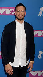 August 20, 2018 - New York City, New York, U.S. - VINNY GUADAGNINO attends the arrivals for the 2018 MTV 'VMAS' held at Radio City Music Hall. (Credit Image: © Nancy Kaszerman via ZUMA Wire)