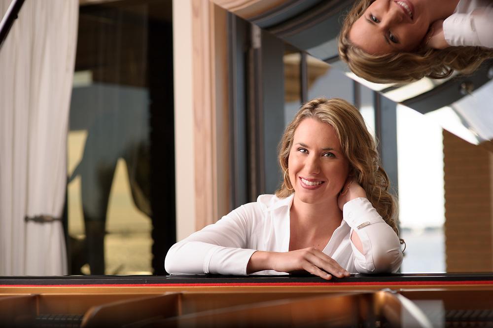 Environmental Portrait of Classical Musician Lindsay Garritson