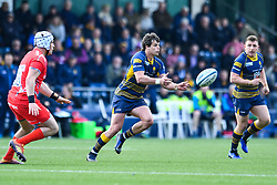 Francois Venter of Worcester Warriors in action - Mandatory by-line: Craig Thomas/JMP - 13/04/2019 - RUGBY - Sixways Stadium - Worcester, England - Worcester Warriors v Sale Sharks - Gallagher Premiership Rugby