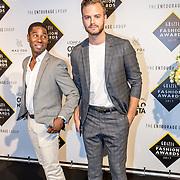 NLD/Amsterdam/20170829 - Grazia Fashion Awards 2017, Huillermo Hilversum en Jim Bakkum