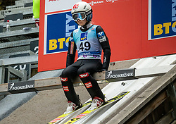 Chiara Hoelzl of Austria during Day 3 of World Cup Ski Jumping Ladies Ljubno 2019, on February 10, 2019 in Ljubno ob Savinji, Slovenia. Photo by Matic Ritonja / Sportida