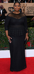 January 29, 2017 - Los Angeles, California, United States - Octavia Spencer on the red carpet at 23rd Annual Screen Actors Guild Awards  at The Shrine Expo Hall in Los Angeles on Sunday, January 29, 2017. (Credit Image: © John Mccoy/Los Angeles Daily News via ZUMA Wire)