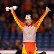NLD/Heerenveen/20060121 - ISU WK Sprint 2006, Manli Wang