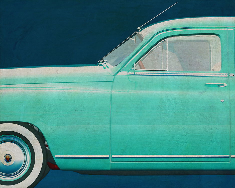 This painting of a detail, the side, of a Packard Eight Sedan 1948 gives your interior a retro look instantly.<br /> This detail of the 1948 Packard Eight Sedan fits in a business as well as a home interior. –<br /> <br /> <br /> BUY THIS PRINT AT<br /> <br /> FINE ART AMERICA<br /> ENGLISH<br /> https://janke.pixels.com/featured/1-packard-eight-sedan-1948-jan-keteleer.html<br /> <br /> WADM / OH MY PRINTS<br /> DUTCH / FRENCH / GERMAN<br /> https://www.werkaandemuur.nl/nl/shopwerk/Packard-Eight-Sedan-1948/528884/132