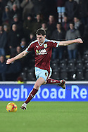 Burnley defender Michael Keane during the Sky Bet Championship match between Hull City and Burnley at the KC Stadium, Kingston upon Hull, England on 26 December 2015. Photo by Ian Lyall.
