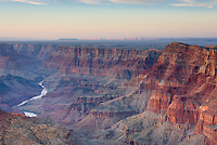 Sunset on the Grand Canyon from Desert View Point, Grand Canyon National Park Arizona