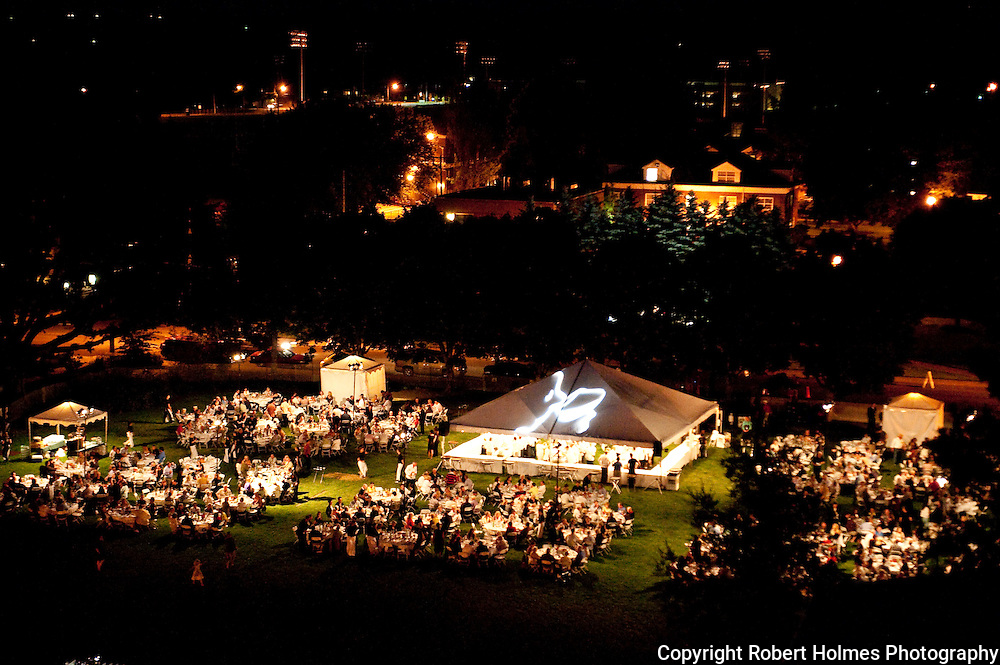 Grand dinner at International Pinot Noir Celebration (IPNC), McMinnville, Willamette Valley,  Oregon