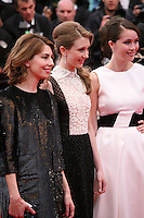 Sofia Coppola, Taissa Fariga, Katie Chang, . at the gala screening of Jeune & Jolie at the 2013 Cannes Film Festival 16th May 2013