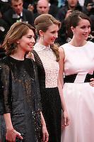 Sofia Coppola, Taissa Fariga, Katie Chang, . at the gala screening of Jeune & Jolie at the 2013 Cannes Film Festival 16th May 2013