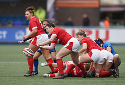 February 2, 2020, Cardiff, United Kingdom: Cerys Hale (Wales) seen in action during the women's Six Nations Rugby between wales and Italy at Cardiff Arms Park in Cardiff. (Credit Image: © Graham Glendinning/SOPA Images via ZUMA Wire)