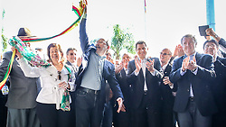 Governador do Estado, José Ivo Sartori e o Secretário da Agricultura Ernâni Polo na abertura oficial da A 38ª Expointer, que ocorrerá entre 29 de agosto e 06 de setembro de 2015 no Parque de Exposições Assis Brasil, em Esteio. FOTO: Pedro Tesch/ Agência Preview