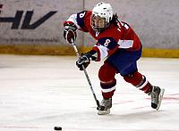 Ishockey<br /> VM for kvinner<br /> Graz Østerrike <br /> Norge<br /> Foto: Gepa/Digitalsport<br /> NORWAY ONLY<br /> <br /> 09.04.2009<br /> <br /> IIHF Damen Eishockey Weltmeisterschaft, Divison 1, SVK vs NOR. Bild zeigt Ingvild Farstad (NOR)