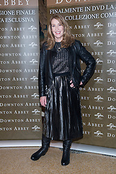 "actress Phyllis Logan and actor Michale Fox of ""Downton Abbey"" attending the photocall for the release of 6th season DVD box of Downton Abbey. - Grand Hotel et de Milan, Milan, Italy. 12 Dec 2016 Pictured: Phyllis Logan. Photo credit: maximon / MEGA TheMegaAgency.com +1 888 505 6342"
