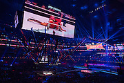 A general view of WrestleMania on April 3, 2016 in Arlington, Texas.
