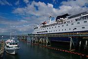 Docked Ferry Boat, Bellingham, WA
