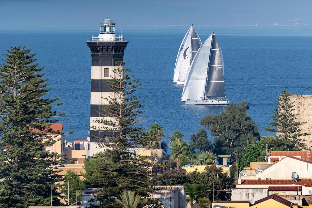LUPA OF THE SEA, Sail no: GBR23N, Owner: Fabio, Skipper: Fabio Cannavale, Model: 0ne off, Country: ITA, Class 1ARAGON, Sail no: NED8313, Owner: Przemek Tarnacki, Skipper: Przemek Taranki, Model: MARTEN 72, Country: POL, Class 1Strait of Messina