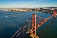 Golden Gate Bridge & City of San Francisco II