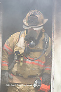63818-02409 Firefighter at structure fire, Effingham Co., IL