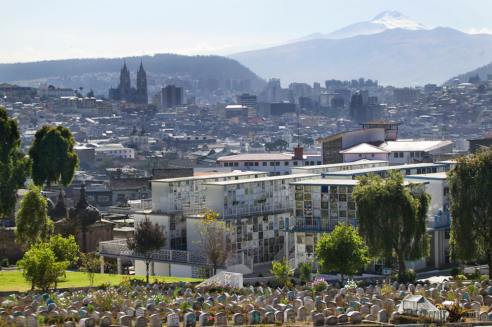 San Diego Cemetery in Quito, Ecuador. It is the final resting-place of some of the most important public personalities of Ecuador, including various ex-presidents.