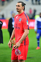 Victoire du PSG / Zlatan IBRAHIMOVIC  - 11.04.2015 -  Bastia / PSG - Finale de la Coupe de la Ligue 2015<br />