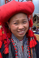 Vietnam. haut Tonkin. Region de Sapa. Dao Rouge. // Vietnam. North Vietnam. Sapa area. Red Dao ethnic group.