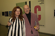 Sir Norman and Lady Foster,  CPhoto magazine launch hosted by Elena Foster. Serpentine Gallery. January 14 2006. London. ONE TIME USE ONLY - DO NOT ARCHIVE  © Copyright Photograph by Dafydd Jones 66 Stockwell Park Rd. London SW9 0DA Tel 020 7733 0108 www.dafjones.com