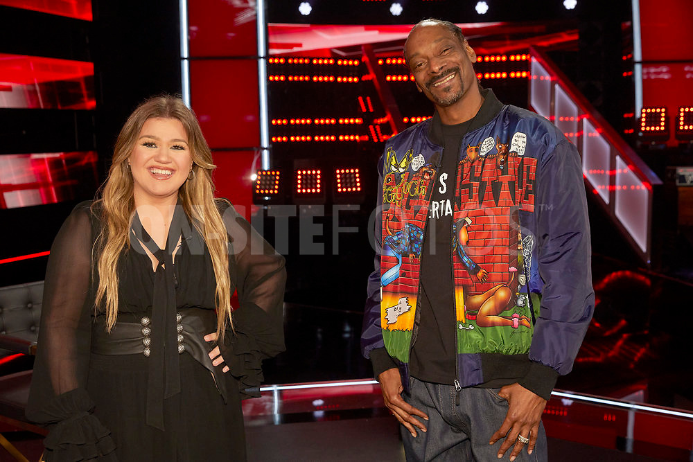 """THE VOICE -- """"Knockout Reality"""" Episode 2010 --  Pictured: (l-r) Kelly Clarkson, Snoop Dogg -- (Photo by: Trae Patton/NBC)"""