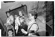 Double exposure, darkroom and the Christchurch May Ball. 1981