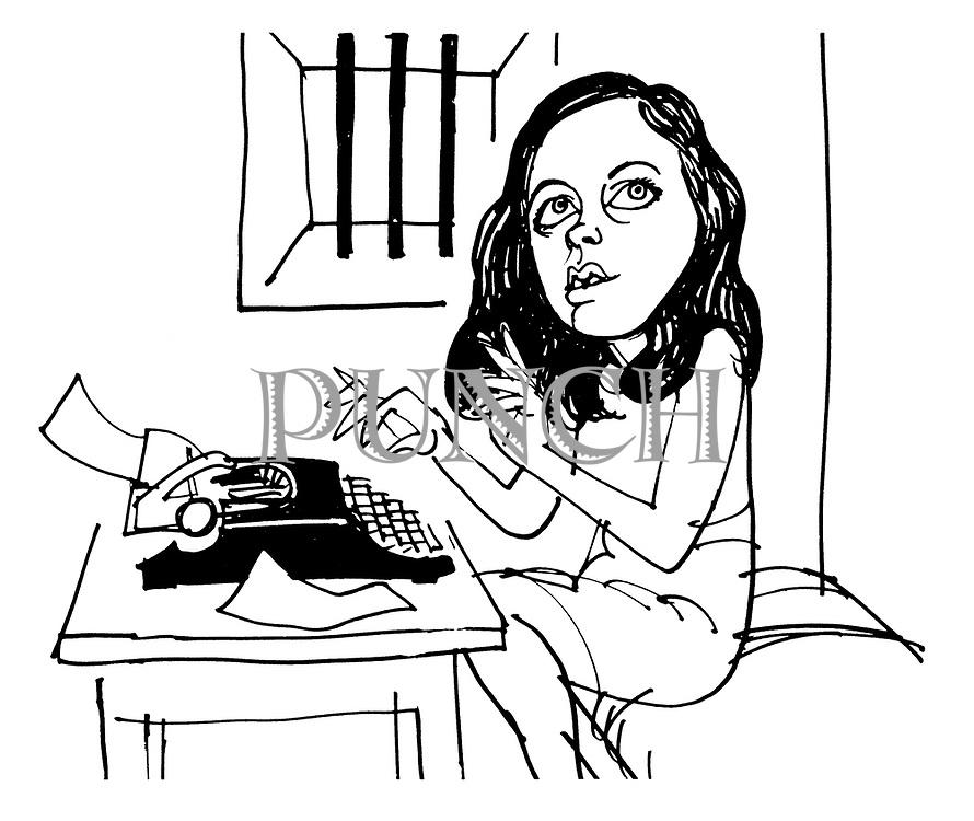 (Portrait of Bernadette Devlin)