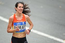 01-11-2015 USA: NYC Marathon, New York<br /> De dag van de marathon, 42 km en 195 meter door de straten van Staten Island, Brooklyn, Queens, The Bronx en Manhattan / Laura Thweatt USA
