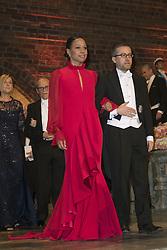 Alice Bah Kunhke , Carlos Moedas <br /> <br />  <br /> <br />  beim Nobelbankett 2016 im Rathaus in Stockholm / 101216 <br /> <br /> <br /> <br /> ***The Nobel banquet, Stockholm City Hall, December 10th, 2016***