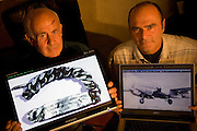 The mystery of Antoine Saint Exupery's disappearance is most likely solved by the testimony of a former Luftwaffe Messerschmitt pilot, Horst Rippert, who attests to shooting down the famous author of 'The Little Prince', who was flying a twin-tailed Lightning P-38 plane, flying below him. The chain bracelet, wrist tag, was found off the coast of Marseille in 1998, by a fisherman 'Jean-Claude Bianco'. The remains of Antoine Saint Exupery's plane was found by a diver 'Luc Vanrell' on the seabed in the same area in 2000.///Jean-Claude Bianco, fisherman, and Luc Vanrell, diver, those who found Antoine Saint Exupery's wrist tag and plane at sea off the coast of Marseille. Pictured, France, East of Marseille, Montredon village.