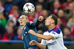 17-09-2013 VOETBAL: UEFA CL FC BAYERN MUNCHEN - CSKA MOSKOU: MUNCHEN<br /> Arjen Robben (FCB #10) im kampf mit Sergei Ignashevich (ZSKA #4)<br /> ***NETHERLANDS ONLY***<br /> ©2013-FotoHoogendoorn.nl