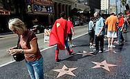 Superman on Hollywood Boulevard